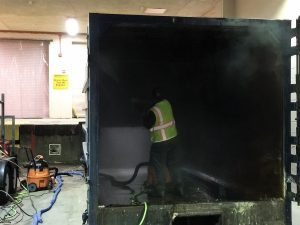 Compactor Washout 1