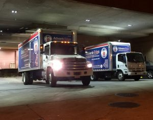 RMW Trucks at VA